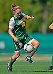 26 August 2012: University of Vermont Catamount midfielder/defender Kerry Glynn in action against the Fairfield University Stags at Virtue Field in Burlington, Vermont. The Stags defeated the Lady Cats 1-0. Mandatory Credit: Ed Wolfstein Photo