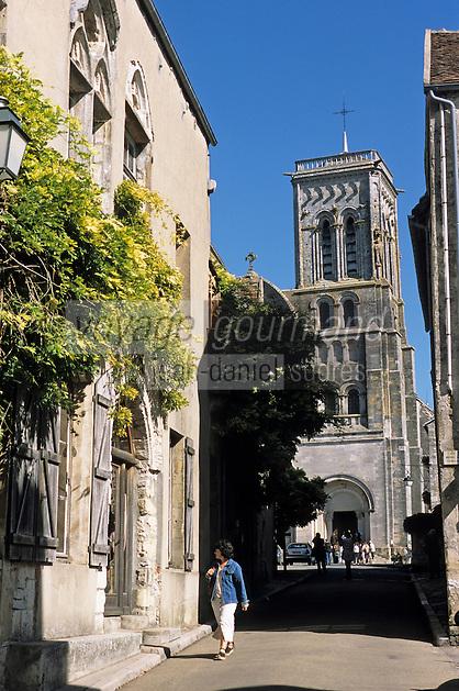 Europe/France/89/Yonne/Vezelay: Basillique Sainte Marie Madeleine