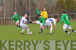 Kerry against DDSL in the Youths Cup at Mounthawk park on Sunday