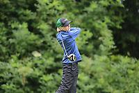 Donnchadh O'Brien (Co. Sligo) during the Connacht U14 Boys Amateur Open, Ballinasloe Golf Club, Ballinasloe, Galway,  Ireland. 10/07/2019<br /> Picture: Golffile | Fran Caffrey<br /> <br /> <br /> All photo usage must carry mandatory copyright credit (© Golffile | Fran Caffrey)
