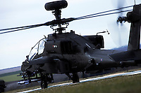 Boeing AH64 Apache Military Helicopter
