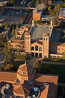 UCLA campus aerial, Los Angeles, CA