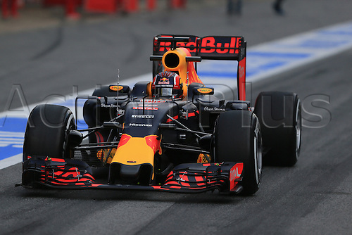 25.02.2016. Circuit de Catalunya, Barcelona, Spain. Day 4 of the Spring F1 testing and new car unvieling for 2016-17 season.  Red Bull Racing RB12 – Daniil Kvyat