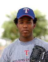 Neftali Feliz / Texas Rangers 2008 Instructional League..Photo by:  Bill Mitchell/Four Seam Images