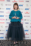 Japan's Best Dresser Awards winner Kaori Muraji poses for the cameras during the 46th Awards ceremony on November 29, 2017, Tokyo, Japan. This year five people received the award for being fashion and lifestyle leaders in their fields. (Photo by Rodrigo Reyes Marin/AFLO)