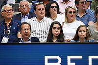 FLUSHING NY- SEPTEMBER 08: John Paulson is seen watching Rafael Nadal Vs Daniil Medvedev during the men's finals on Arthur Ashe Stadium at the USTA Billie Jean King National Tennis Center on September 8, 2019 in Flushing Queens. <br /> CAP/MPI04<br /> ©MPI04/Capital Pictures