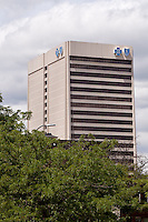 Blue Cross Blue Shield of Michigan headquarters is seen in Detroit (Mi) Saturday June 8, 2013. A nonprofit organization, Blue Cross Blue Shield of Michigan is one of the largest independent licensee of Blue Cross Blue Shield Association.