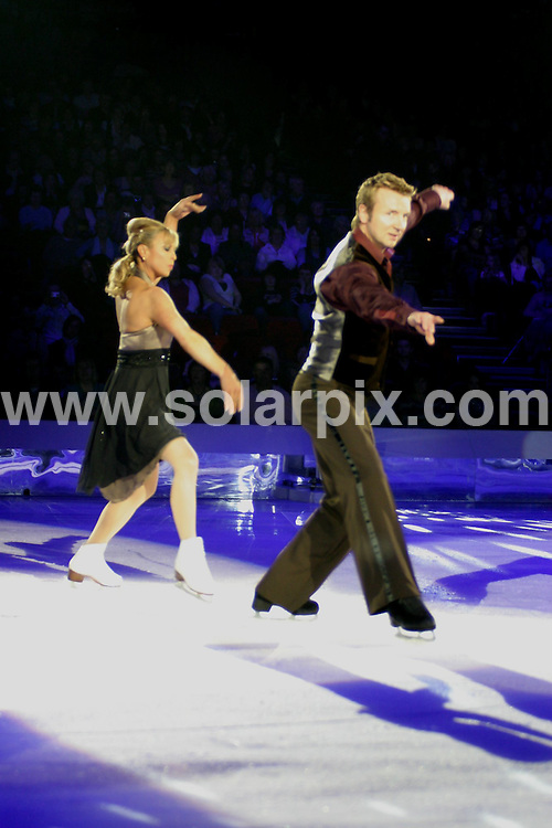 **ALL ROUND PICTURES FROM SOLARPIX.COM**.**WORLDWIDE SYNDICATION RIGHTS**.Dancing On Ice at Birmingham National Indoor Arena. 15th April 2008..This pic: Christopher Dean and Jane Torville..JOB REF: 6148 NYA       DATE: 15_04_2008.**MUST CREDIT SOLARPIX.COM OR DOUBLE FEE WILL BE CHARGED* *UNDER NO CIRCUMSTANCES IS THIS IMAGE TO BE REPRODUCED FOR ANY ONLINE EDITION WITHOUT PRIOR PERMISSION*