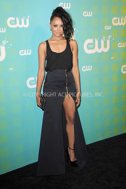 WWW.ACEPIXS.COM . . . . . .May 17, 2012...New York City....Kat Graham arriving at The CW Network's New York 2012 Upfront at New York City Center on May 17, 2012 in New York City ....Please byline: KRISTIN CALLAHAN - ACEPIXS.COM.. . . .Ace Pictures, Inc: ..tel: (212) 243 8787 or (646) 769 0430..e-mail: info@acepixs.com..web: http://www.acepixs.com .