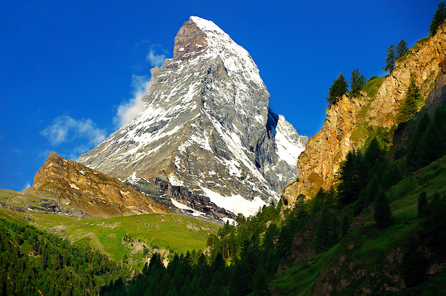 Matterhorn Mountain - Swiss Alps
