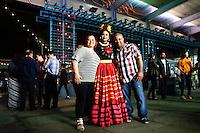 Frida Kahlo exhibit at the Bronx Botanical Garden in New York City, United States 05/16/2015. Kena Betancur/VIEWpress