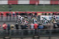 Race start<br /> <br /> Elite Men's Race<br /> UCI CX World Cup Zolder / Belgium 2017