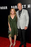 Lisa Bruce &amp; Dave Evans at the premiere for &quot;Darkest Hour&quot; at the Samuel Goldwyn Theatre at The Motion Picture Academy. Beverly Hills, USA 08 November  2017<br /> Picture: Paul Smith/Featureflash/SilverHub 0208 004 5359 sales@silverhubmedia.com