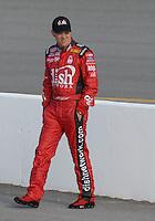 May 4, 2007; Richmond, VA, USA; Nascar Nextel Cup Series driver Matt Kenseth (17) during qualifying for the Jim Stewart 400 at Richmond International Raceway. Mandatory Credit: Mark J. Rebilas