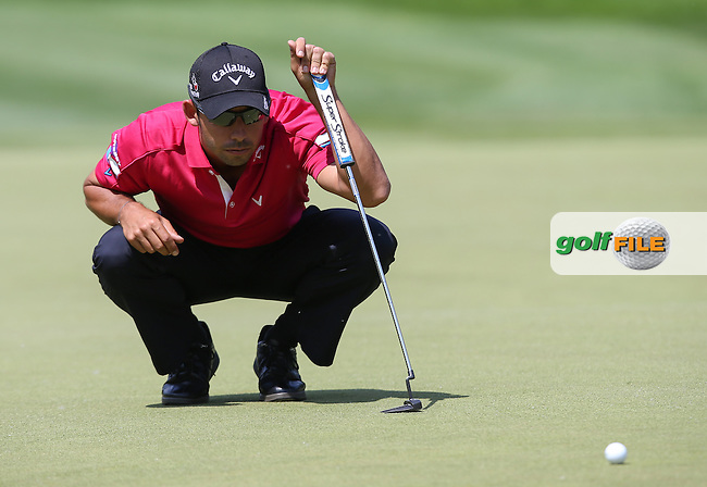 Par on 10 for /{prsn}/ during the Final Round of the 2015 BMW International Open at Golfclub Munchen Eichenried, Eichenried, Munich, Germany. 28/06/2015. Picture David Lloyd | www.golffile.ie