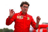 Mattia Binotto Team Principal Scuderia Ferrari<br /> Monza 06/09/2019 GP Italia <br /> Formula 1 Championship 2019 <br /> Photo Federico Basile / Insidefoto