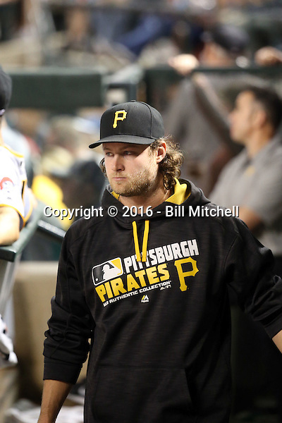 Gerrit Cole - 2016 Pittsburgh Pirates (Bill Mitchell)