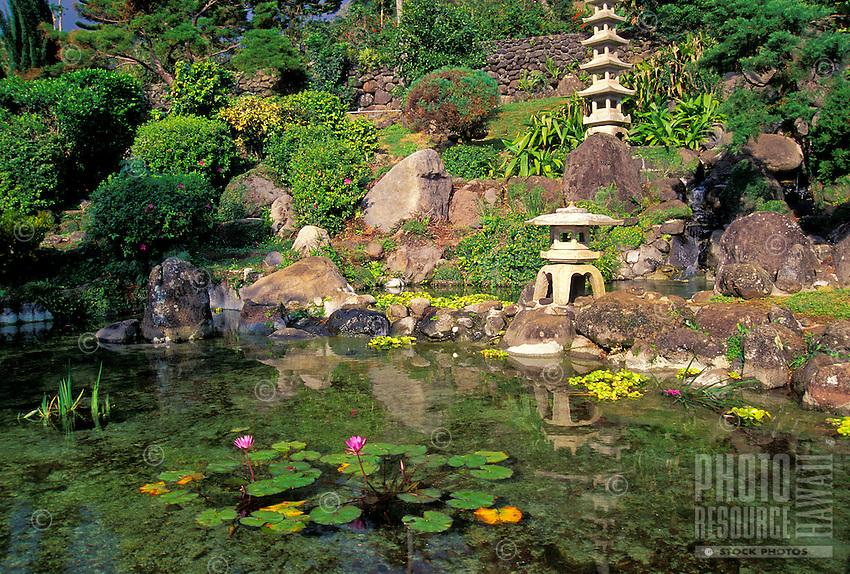 Kepaniwai Heritage Gardens, near Iao Needle State Park, Wailuku, Maui