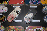 Japanese style Playstation portable covers. The covers will go on sale around Christmas time in Japan.