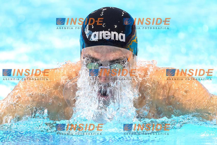 Fabio SCOZZOLI ITA <br /> 4x100m Medley Mixed <br /> London, Queen Elizabeth II Olympic Park Pool <br /> LEN 2016 European Aquatics Elite Championships <br /> Swimming<br /> Day 09 17-05-2016<br /> Photo Andrea Staccioli/Deepbluemedia/Insidefoto