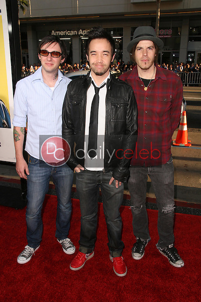 Hoobastank<br />at the Los Angeles Premiere of 'Observe and Report'. Grauman's Chinese Theatre, Hollywood, CA. 04-06-09<br />Dave Edwards/DailyCeleb.com 818-249-4998