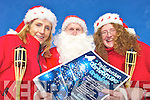 FESTIVE FUN: Santa Claus paid a visit to Ballybunion on Friday to launch the Ballybunion Christmas Cracker event on December 10th and was joined by Maura Hanrahan of Ballybunion Tidy Towns and Jennifer Walsh of Ballybunion Special Events.