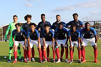 France Under 18 Team photo during France Under-18 vs Brazil Under-20, Tournoi Maurice Revello Football at Stade d'Honneur Marcel Roustan on 5th June 2019