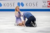 22nd March 2018, Milan, Italy; ISU World Figure Skating Championships Milano 2018;  Aljona Savchenko and Bruno Massot (Ger)