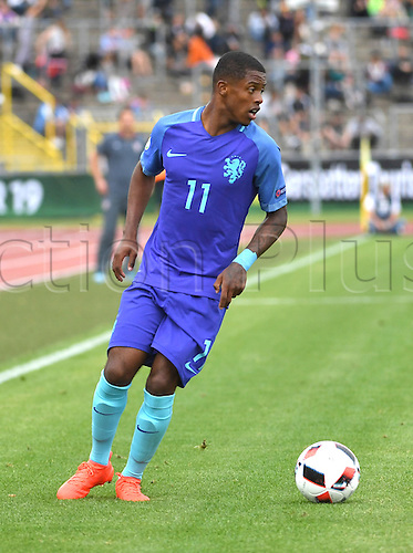 12.07.2016. Donaustadion, Ulm, Germany.  Netherland's Kenneth Paal in action during the U19 European Soccer Championship Group B preliminary round match between Croatia and the Netherlands at Donaustadion in Ulm, Germany, 12 July 2016.