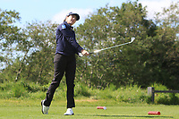 Shannon Burke (Ballinrobe) on the 12th tee during Round 4 of the Ulster Stroke Play Championship at Galgorm Castle Golf Club, Ballymena, Northern Ireland. 28/05/19<br /> <br /> Picture: Thos Caffrey / Golffile<br /> <br /> All photos usage must carry mandatory copyright credit (© Golffile | Thos Caffrey)