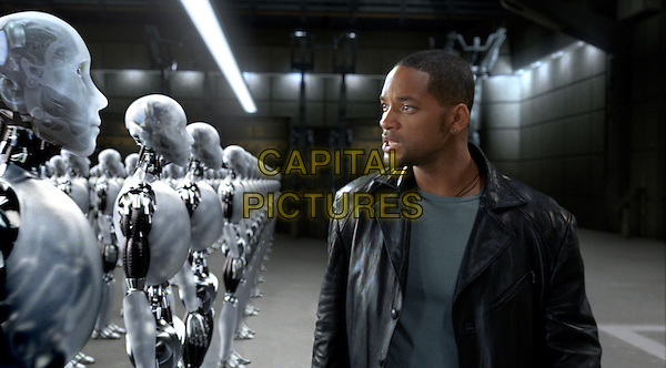 Will Smith.in I, Robot.*Filmstill - Editorial Use Only*.CAP/NFS.Supplied by Capital Pictures.