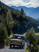 SUV Hochimst Obermarkter Alm, Imst, Tirol, &Ouml;sterreich, Europa<br /> SUV Obermarkter Alm,, Hochimst, Imst, Tyrol, Austria, Europe