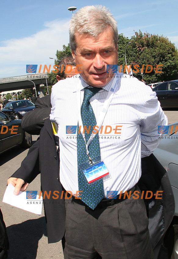 Roma, 25/05/ 2006. Assemblea Annuale Confindustria 2006. <br /> Nella foto Carlo Sangalli, Presidente di Confcommercio.<br /> Photo Samantha Zucchi Insidefoto