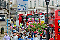 A view of a busy street in London, England