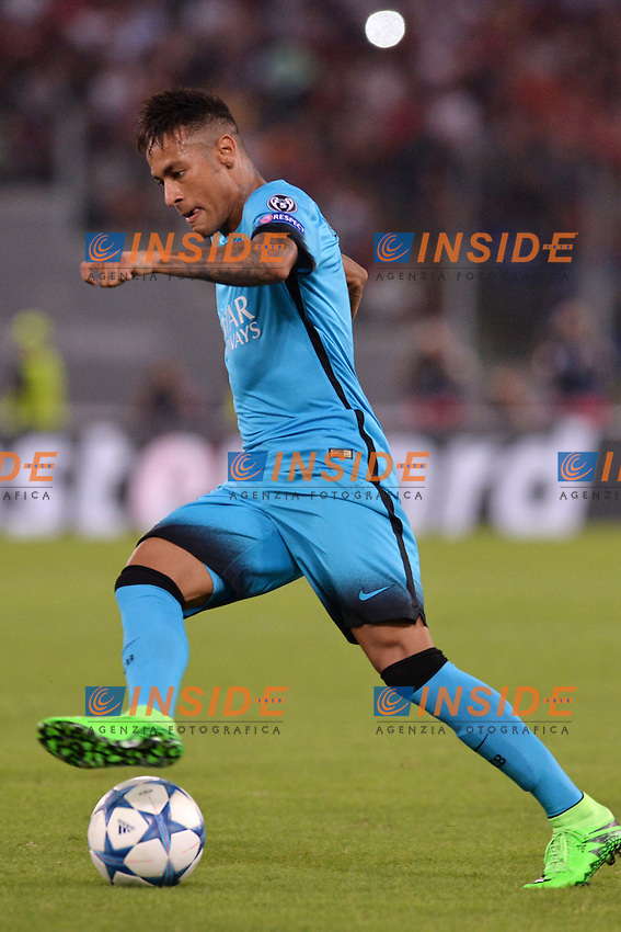 Neymar Barcelona.<br /> Roma 16-09-2015 Stadio Olimpico Football Calcio Champions League 2015/2016 Group Stage - Group E AS Roma - Barcelona / AS Roma - Barcellona Foto Antonietta Baldassarre / Insidefoto
