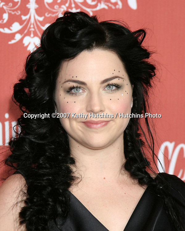 "Amy Lee.Spike TV's ""Scream 2007"" Awards.The Greek Theater.Los Angeles,  CA.October 19, 2007.©2007 Kathy Hutchins / Hutchins Photo...               ."