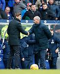 16.03.2019 Rangers v Kilmarnock: Steven Gerrard and Steve Clarke