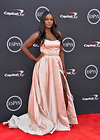 Aja Evans at the 2018 ESPY Awards at the Microsoft Theatre LA Live, Los Angeles, USA 18 July 2018<br /> Picture: Paul Smith/Featureflash/SilverHub 0208 004 5359 sales@silverhubmedia.com