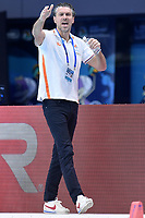HAVENGA Arno coach Netherlands NED <br /> Budapest 13/01/2020 Duna Arena <br /> GERMANY (white caps) Vs. NETHERLANDS (blue caps)<br /> XXXIV LEN European Water Polo Championships 2020<br /> Photo  © Andrea Staccioli / Deepbluemedia / Insidefoto