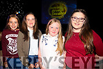 Ava Duggan, Aoife Hassett, Katie Naughton and Amy Naughton  at the Austin Stacks Strictly Come Dancing on Saturday night