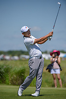 Sung Kang (USA) watches his tee shot on 8 during round 4 of the AT&T Byron Nelson, Trinity Forest Golf Club, Dallas, Texas, USA. 5/12/2019.<br /> Picture: Golffile   Ken Murray<br /> <br /> <br /> All photo usage must carry mandatory copyright credit (© Golffile   Ken Murray)