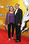 LOS ANGELES, CA. - February 26: Hill Harper and Mom arrive at the 41st NAACP Image Awards at The Shrine Auditorium on February 26, 2010 in Los Angeles, California.