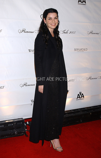 WWW.ACEPIXS.COM . . . . . ....NEW YORK, OCTOBER 26, 2005....Julianna Margulies at the 2005 Princess Grace Awards held at Cipriani... ..Please byline: KRISTIN CALLAHAN - ACE PICTURES.. . . . . . ..Ace Pictures, Inc:  ..Craig Ashby (212) 243-8787..e-mail: picturedesk@acepixs.com..web: http://www.acepixs.com