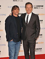 Richard Linklater and Bryan Cranston at the 61st BFI LFF &quot;Last Flag Flying&quot; Headline gala, Odeon Leicester Square, Leicester Square, London, England, UK, on Sunday 08 October 2017.<br /> CAP/CAN<br /> &copy;CAN/Capital Pictures