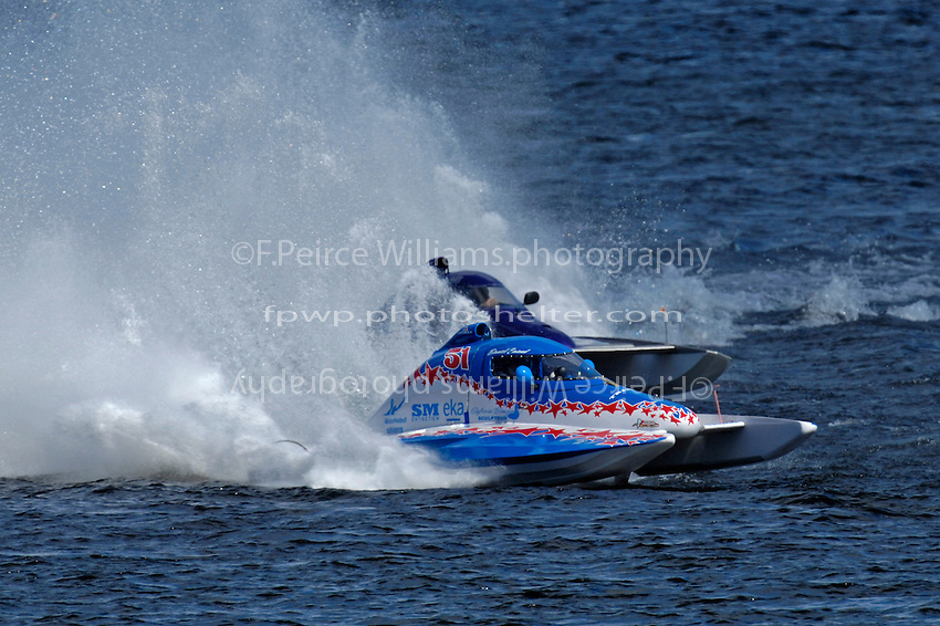 "CT-51 and Leah Hoosick, T-27 ""Chaotic Dream"" (1.5 Litre Stock hydroplane(s)"