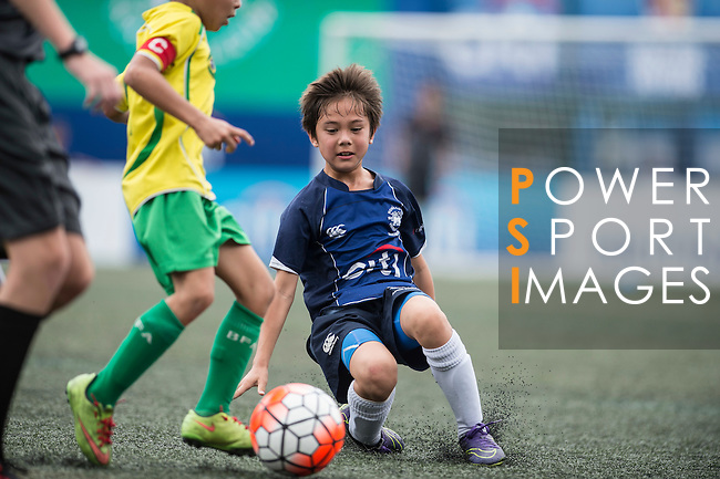 Juniors U-9 Plate Final. HKFC Soccer Section vs BFA during the Juniors of the HKFC Citi Soccer Sevens on 21 May 2016 in the Hong Kong Footbal Club, Hong Kong, China. Photo by Li Man Yuen / Power Sport Images