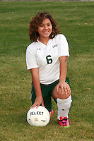 2013 Girls Soccer Portraits