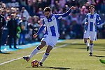 Club Deportivo Leganes's Unai Bustinza during the match of La Liga between Leganes and Athletic Club at Butarque Stadium  in Madrid , Spain. January  14, 2017. (ALTERPHOTOS/Rodrigo Jimenez)