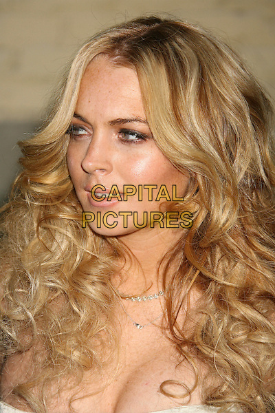 LINDSAY LOHAN.US Weekly Presents Us' Hot Hollywood 2007 held at Sugar,  Hollywood, California, USA..April 26th, 2007.headshot portrait blonde hair .CAP/ADM/RE.©Russ Elliot/AdMedia/Capital Pictures