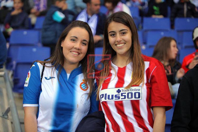 League Santander 2016/2017. Game: 33.<br /> RCD Espanyol vs Atletico de Madrid: 0-1.
